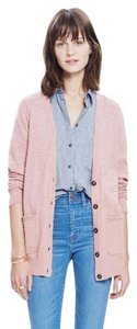 Madewell Sweater Pink Cardigan