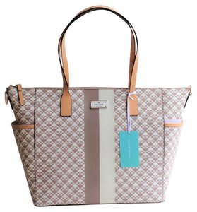 Kate Spade Tote Convertible Beige Diaper Bag