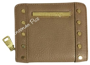 Steve Madden French Zip Around Wallet with Studs