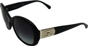 Chanel Chanel 5235-Q Mademoiselle Bleige Turn lock Leather Sunglasses