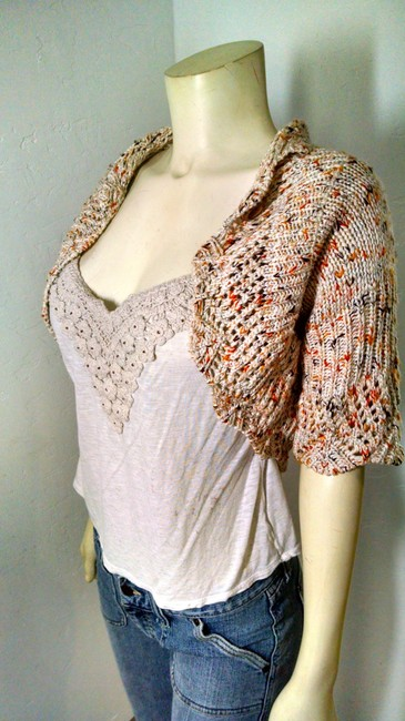 B. Young Open Front Size Small P1257 Cardigan