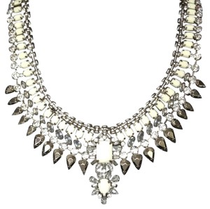 BCBGMAXAZRIA stone statement necklace