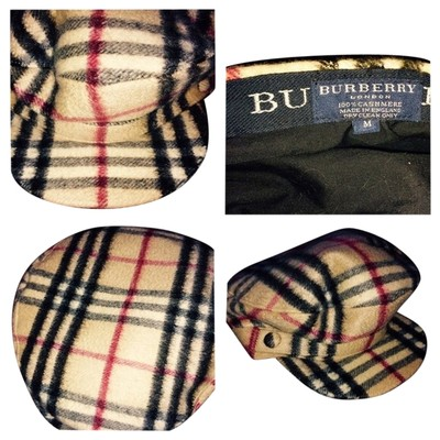 burberry plaid hats burberry accessories tradesy