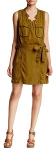 Free People short dress Honey Wrap Plunge Mini on Tradesy