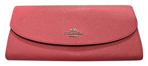 Coach F54009 Crossgrain Leather Slim Envelope Wallet