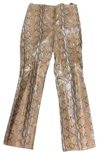 Other Snake Skin Trouser Pants brown