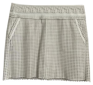 Tory Burch Mini Skirt off white