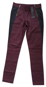 Marc by Marc Jacobs Wine & Navy Leggings