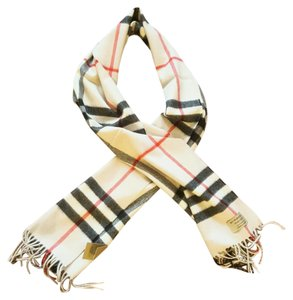 Burberry London Classic Burberry Giant Check Cashmere Scarf New with tags