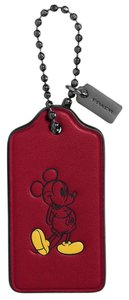 Coach Limited Edition Boxed Mickey Hangtag Key Fob