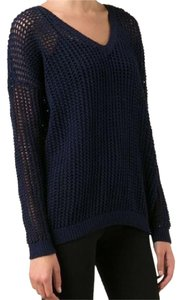 Vince Grid Mesh Sweater