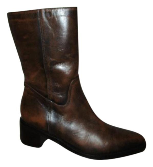 Item - Brown Leather Boots/Booties Size US 5.5 Regular (M, B)