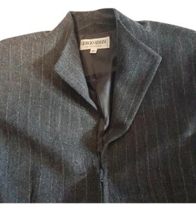 Giorgio Armani Grey with white pinstripe Blazer