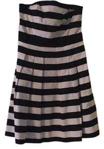 black and white summer striped dress Dress
