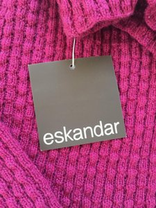 Eskandar New With Tags Funnel Neck Sweater