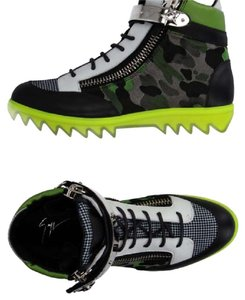 Giuseppe Zanotti green black white Athletic