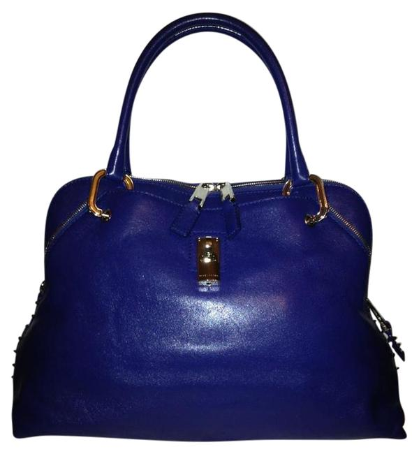 Item - Bag Rio Top Handle Satchel Pacific Blue Leather Tote
