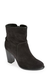 Rag & Bone & Ankle Suede Black Boots