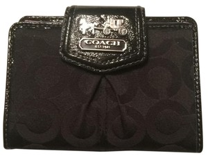 Coach F46646 MADISON OP ART SATEEN MEDIUM ZIP WALLET