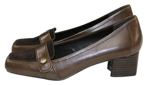 Franco Sarto Suede Italian Loafer brown Pumps