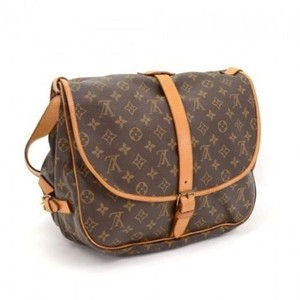 Louis Vuitton Lv Saumur 35 Vintage Monogram Shoulder Bag