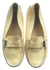 Tod's Driving Yellow Flats