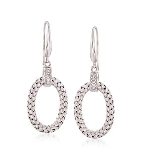 Charles Garnier Ravello Oval Drop Earrings