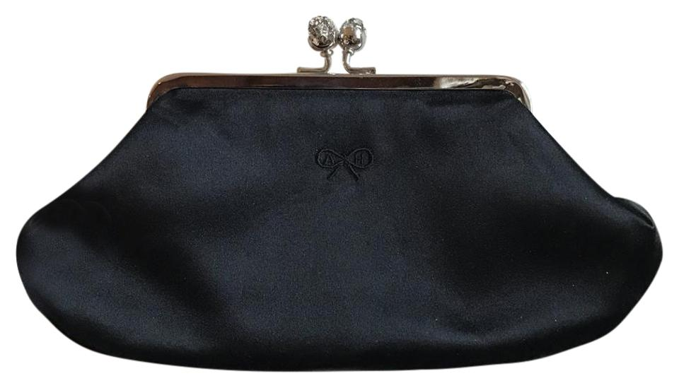 db2a16830742 Anya Hindmarch Kate Middleton Silk with Suede Lining Clutch - Tradesy