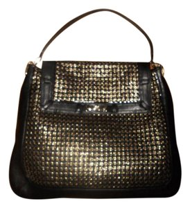 Anya Hindmarch Bowery Woven Weave Leather Shoulder Bag