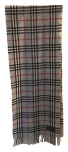 Burberry lambs wool novacheck scarf 209943