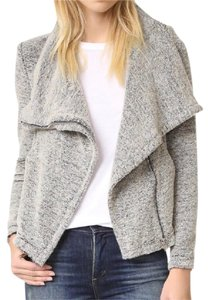 IRO Drape Front Zipper Bessie Grey Jacket