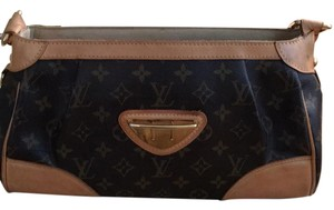 Louis Vuitton Satchel in LV brown and tan
