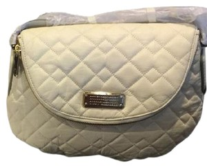 Marc by Marc Jacobs Cross Body White Quilted Leather Shoulder Bag