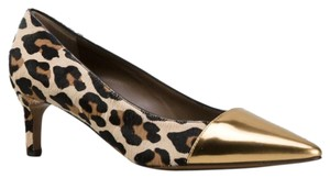 Marni Made In Italy Luxury Pointed Toe Gold, black, brown, cream Pumps