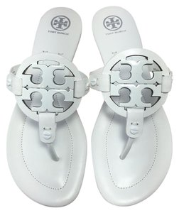 Tory Burch Miller Miller 2 White Sandals