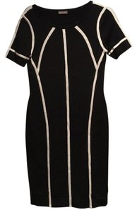 Vince Camuto short dress Black and white on Tradesy