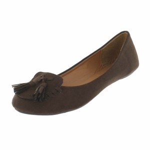 Red Circle Footwear Brown Flats