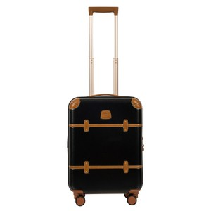 Bric's Luggage Leather Carry-on Black/Cognac Travel Bag