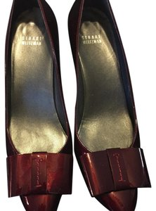 Stuart Weitzman Ruby, maroon, garnet patent leather Pumps
