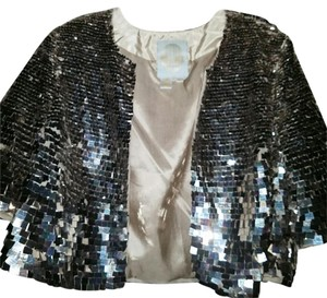 Tracy Reese Silver Jacket