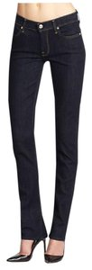 7 For All Mankind Jean Straight Leg Jeans-Dark Rinse