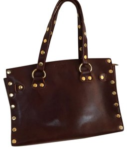 Hammett LA Leather Tote in Bordeaux (Mahogany)