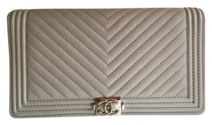 Chanel Chanel Chevron Boy Wallet