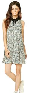 Forever 21 short dress multi floral on Tradesy