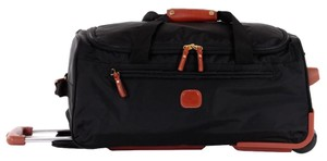Bric's Duffel Carry On Luggage Black Travel Bag