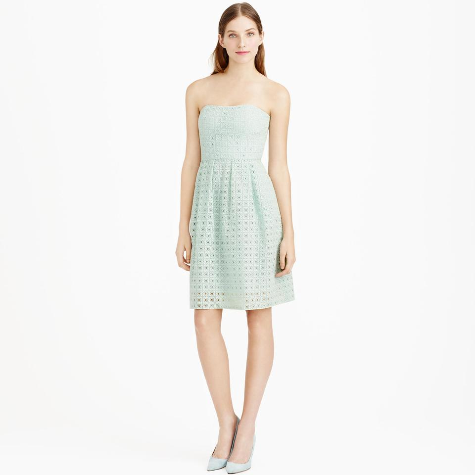 Jew dusty seaglass jcrew hayley dress in organza eyelet dress ombrellifo Choice Image