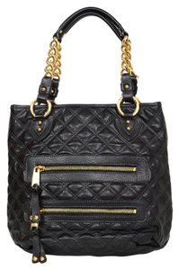 Marc Jacobs Quilted Tote Leather Shoulder Bag