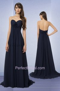 Bill Levkoff Navy Bill Levkoff Strapless Style #774 Dress