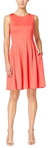 Calvin Klein short dress Watermelon on Tradesy