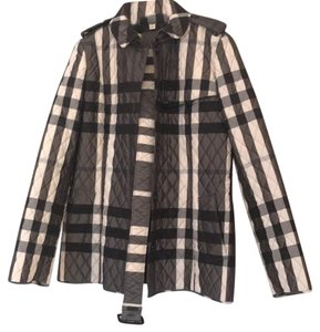 Burberry London black, grey and cream Jacket